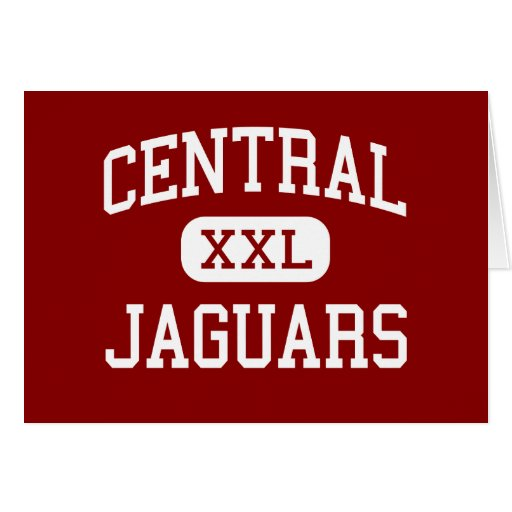 Central - Jaguars - High School - Beaumont Texas Greeting Card