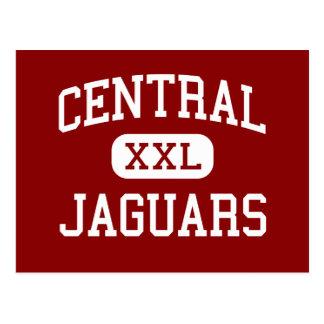 Central - Jaguars - High School - Beaumont Texas Post Card