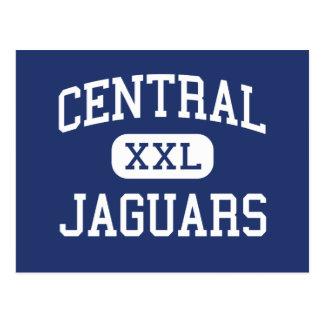 Central - Jaguars - High School - Milton Florida Postcard