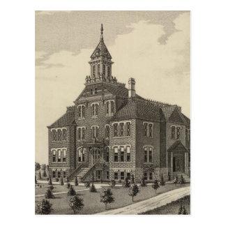 Central Kansas College Postcard