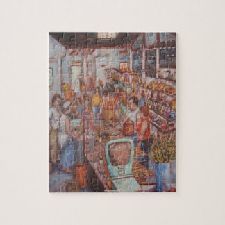 Central Market in Lancaster City PA Jigsaw Puzzle