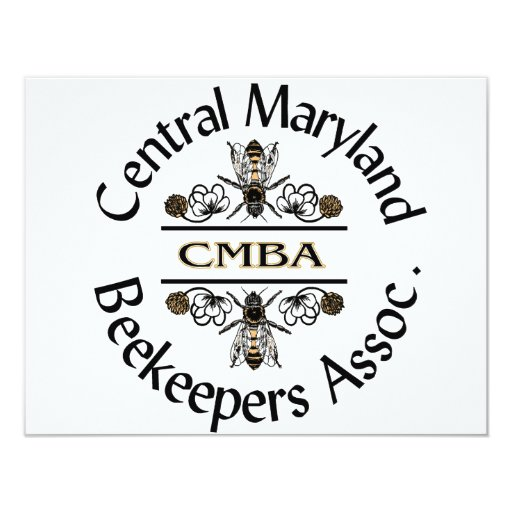 Central Maryland Beekeepers Logo Card
