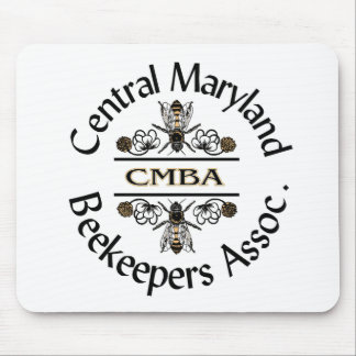 Central Maryland Beekeepers Logo Mouse Pad