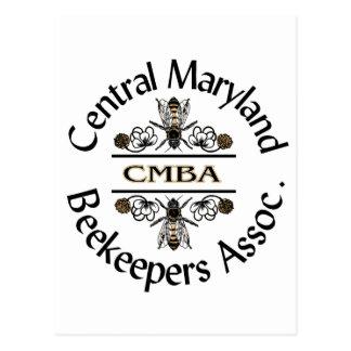 Central Maryland Beekeepers Logo Postcard