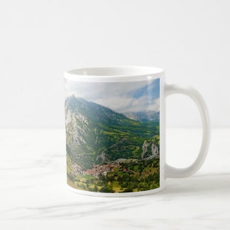 Central Massif of the Picos de Europa in Spain Classic White Coffee Mug