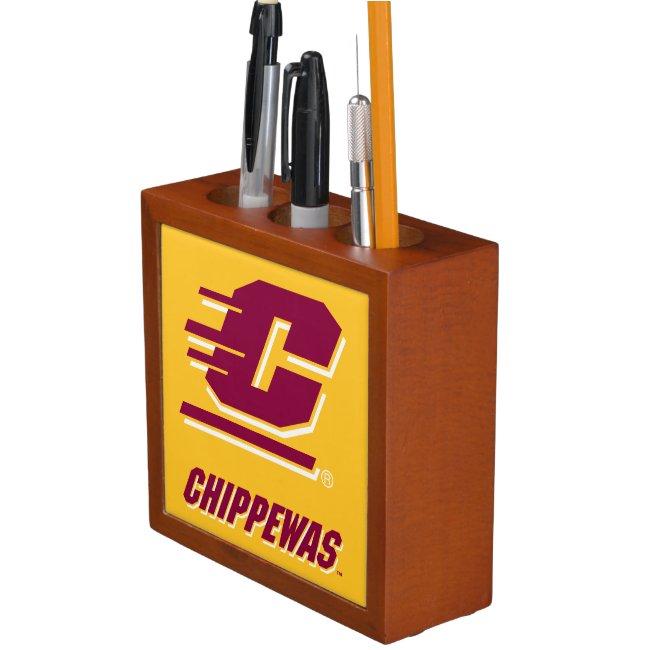 Central Michigan University Chippewas Desk Organizer