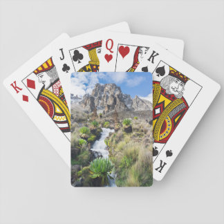 Central Mount Kenya National Park Playing Cards
