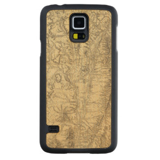 Central New Mexico 2 Carved® Maple Galaxy S5 Slim Case