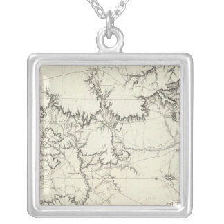 Central New Mexico Silver Plated Necklace