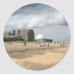 Central nuclear de Sizewell Etiqueta Redonda