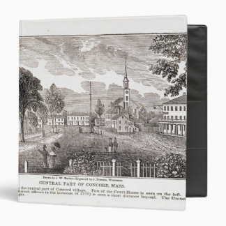 Central of Concord, from 'Historical 3 Ring Binder
