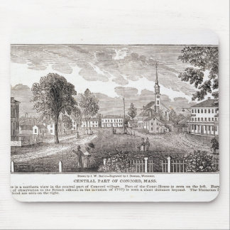 Central of Concord, from 'Historical Mouse Pad