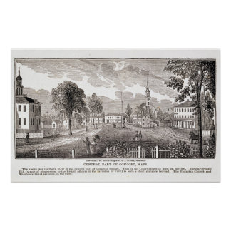Central of Concord, from 'Historical Poster