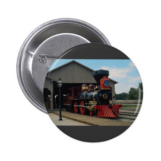 Central Pacific, 4-4-0 Pinback Buttons