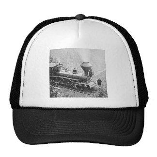 Central Pacific Railroad Cape Horn California Trucker Hat