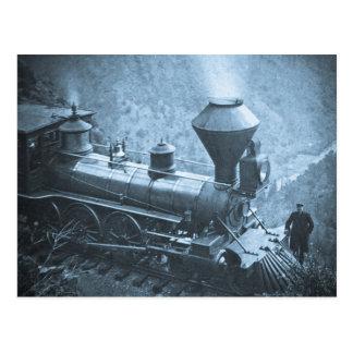 Central Pacific Railroad Cape Horn California Post Card
