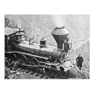 Central Pacific Railroad Cape Horn California Postcard