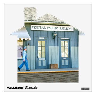 Central Pacific Railroad Wall Decal