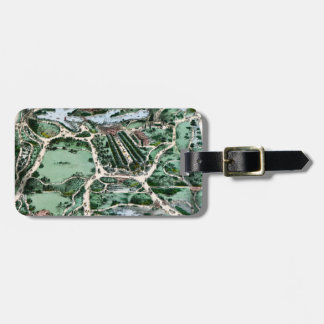 CENTRAL PARK, 1860 LUGGAGE TAG