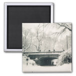 central park 2 inch square magnet
