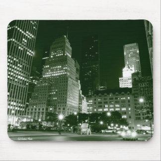 Central Park and Manhattan Skyline, New York City Mouse Pad