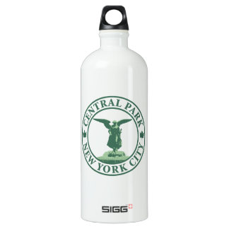 Central Park Angel Aluminum Water Bottle