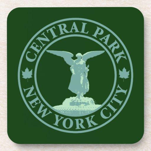Central Park Angel Beverage Coaster