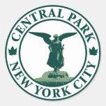 Central Park Angel Classic Round Sticker