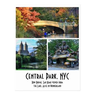 Central Park: Arquee el puente, San Remo, Alicia e Tarjeta Postal