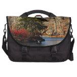 Central Park Autumn Landscape Photo Laptop Commuter Bag