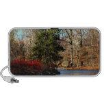 Central Park Autumn Landscape Photo Notebook Speaker