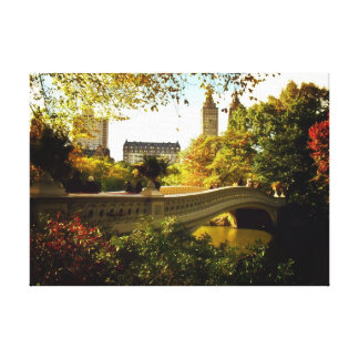 Central Park Autumn - New York City Gallery Wrapped Canvas