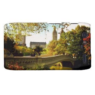 Central Park Autumn - New York City Droid RAZR Covers
