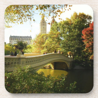 Central Park Autumn - New York City Drink Coaster