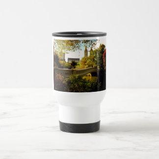Central Park Autumn - New York City Travel Mug