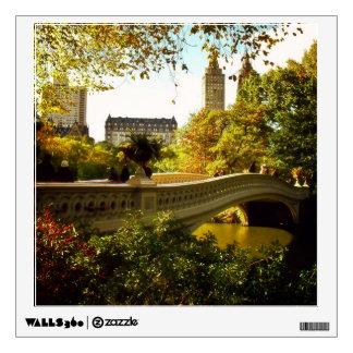 Central Park Autumn - New York City Wall Decal