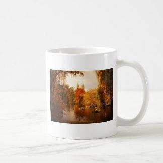 Central Park Autumn Romance Coffee Mug