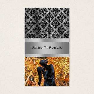 Central Park Autumn: Romeo & Juliet Statue 02 Business Card