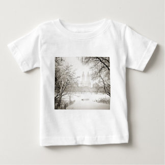 Central Park - Beautiful Winter Snow Baby T-Shirt