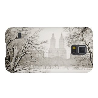 Central Park - Beautiful Winter Snow Galaxy S5 Case
