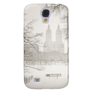 Central Park - Beautiful Winter Snow Samsung Galaxy S4 Cover