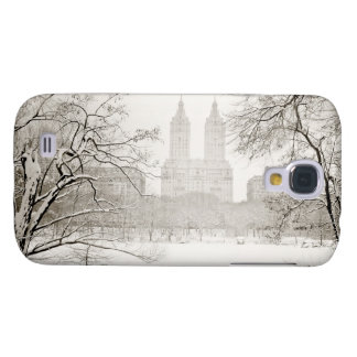 Central Park - Beautiful Winter Snow Samsung Galaxy S4 Cases