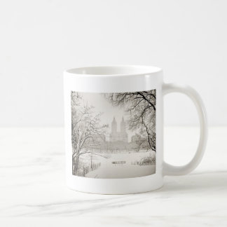 Central Park - Beautiful Winter Snow Coffee Mug