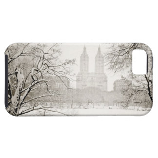 Central Park - Beautiful Winter Snow iPhone SE/5/5s Case