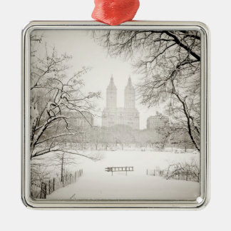 Central Park - Beautiful Winter Snow Christmas Ornament