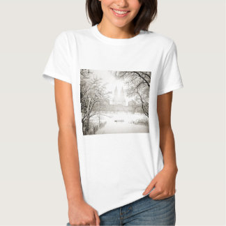 Central Park - Beautiful Winter Snow T-Shirt