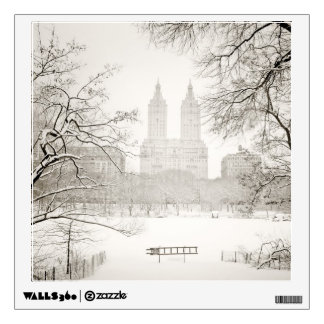 Central Park - Beautiful Winter Snow Wall Decal