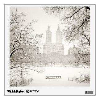 Central Park - Beautiful Winter Snow Wall Sticker