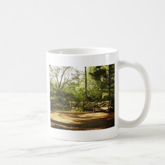 Central Park Bench, Summer, New York City Coffee Mug