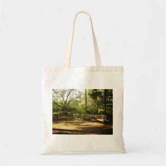Central Park Bench, Summer, New York City Tote Bag